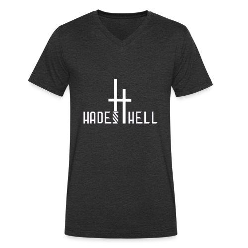 Hadeshell-white - Männer Bio-T-Shirt mit V-Ausschnitt von Stanley & Stella