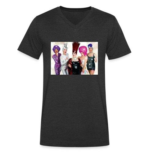 Covergirls - Männer Bio-T-Shirt mit V-Ausschnitt von Stanley & Stella