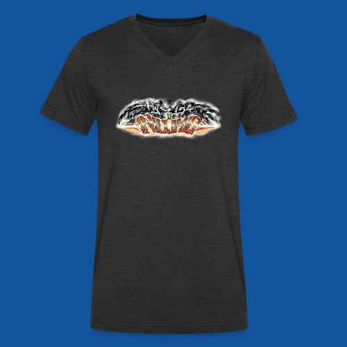 Manifespace & Inilumio - Männer Bio-T-Shirt mit V-Ausschnitt von Stanley & Stella