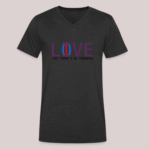 14-30 Love Live YOLO - Männer Bio-T-Shirt mit V-Ausschnitt von Stanley & Stella