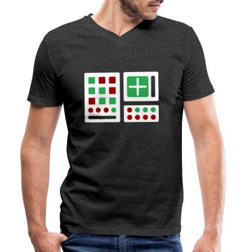 Classic Computer 2 - Männer Bio-T-Shirt mit V-Ausschnitt von Stanley & Stella