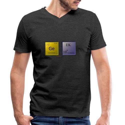 GEEK IV - T-shirt bio col V Stanley & Stella Homme