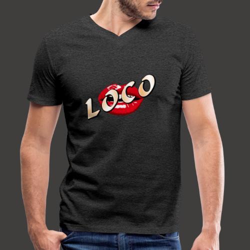 LOCO - Männer Bio-T-Shirt mit V-Ausschnitt von Stanley & Stella