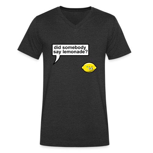 Did somebody say lemonade - Mannen bio T-shirt met V-hals van Stanley & Stella