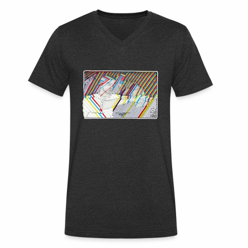 TWIST - Men's Organic V-Neck T-Shirt by Stanley & Stella