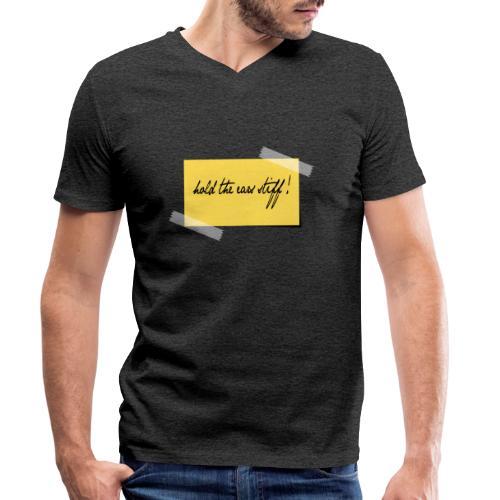 hold the ears stiff - Männer Bio-T-Shirt mit V-Ausschnitt von Stanley & Stella