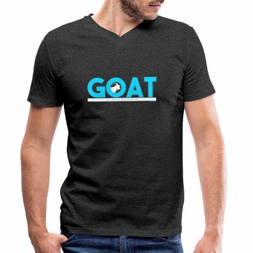 GOAT - Mannen bio T-shirt met V-hals van Stanley & Stella