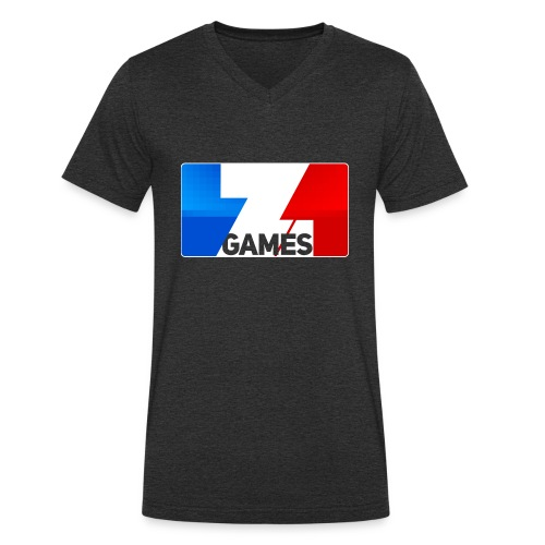 9815 2CZoominGames so MLG - Men's Organic V-Neck T-Shirt by Stanley & Stella