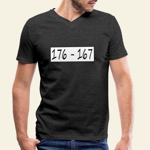176167 - Økologisk Stanley & Stella T-shirt med V-udskæring til herrer