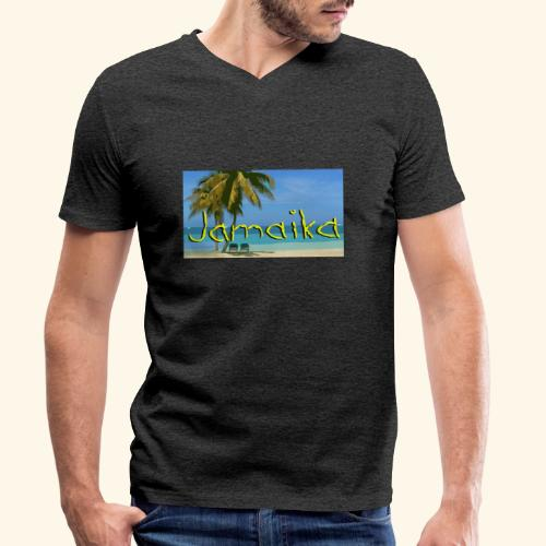 JAMAIKA - Männer Bio-T-Shirt mit V-Ausschnitt von Stanley & Stella