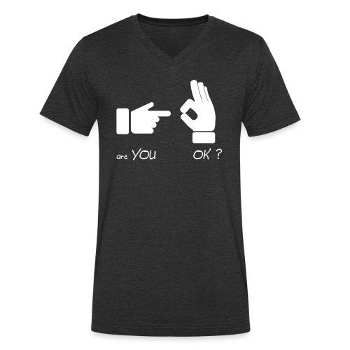 êtes-vous d'accord? (Fun Sex) - T-shirt bio col V Stanley & Stella Homme