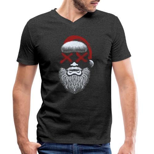 Weihnachten fällt aus - Männer Bio-T-Shirt mit V-Ausschnitt von Stanley & Stella