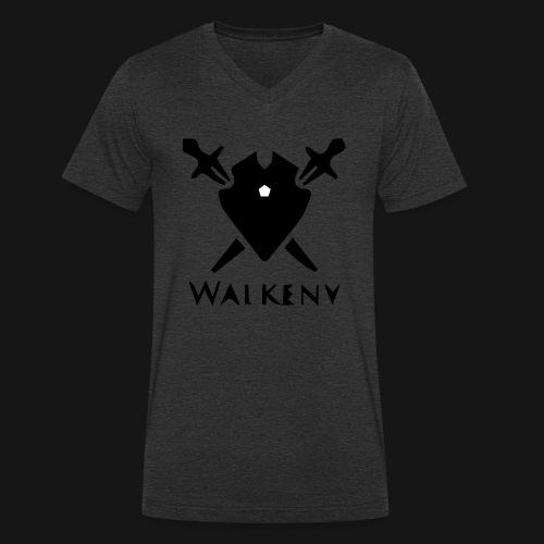 Walkeny Schwert Logo! - Männer Bio-T-Shirt mit V-Ausschnitt von Stanley & Stella
