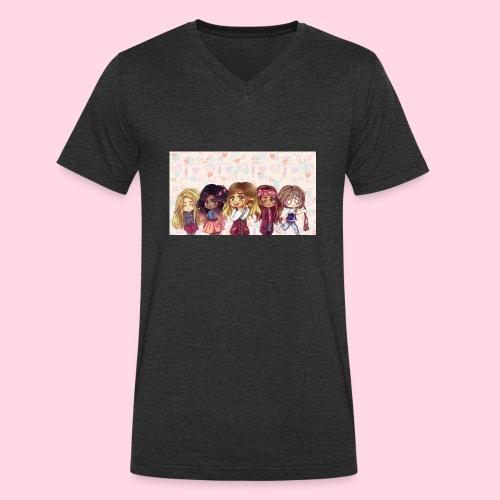 bggals png - T-shirt bio col V Stanley & Stella Homme