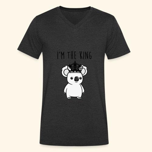 Koala king - T-shirt bio col V Stanley & Stella Homme