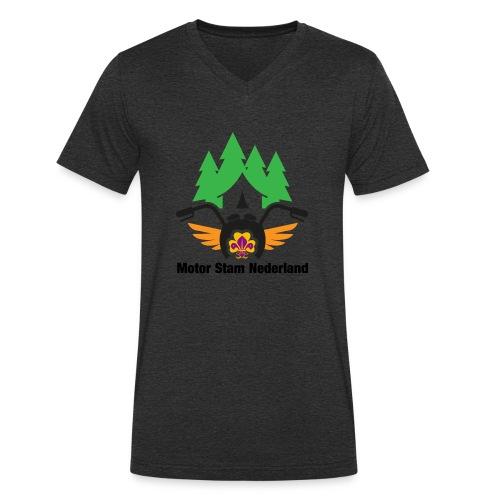 logo motorstam - Mannen bio T-shirt met V-hals van Stanley & Stella