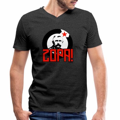 Zopa! - Mannen bio T-shirt met V-hals van Stanley & Stella