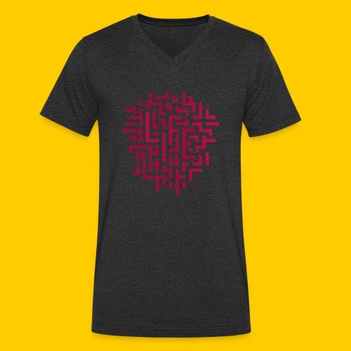 Life - Ekologisk T-shirt med V-ringning herr från Stanley & Stella