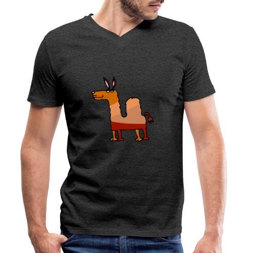 Tod le dromadaire - T-shirt bio col V Stanley & Stella Homme
