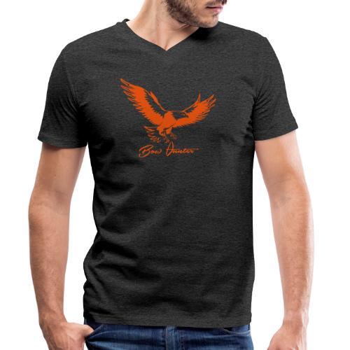 Eagle Bow Hunter - Männer Bio-T-Shirt mit V-Ausschnitt von Stanley & Stella
