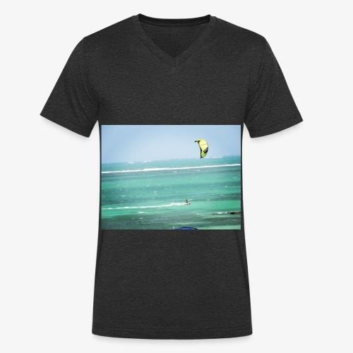Sea Life - T-shirt bio col V Stanley & Stella Homme