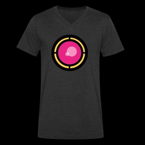 Eye of Phantom - Men's Organic V-Neck T-Shirt by Stanley & Stella