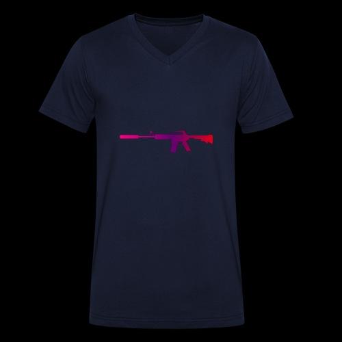 csgo m4a1 s fade - Ekologisk T-shirt med V-ringning herr från Stanley & Stella