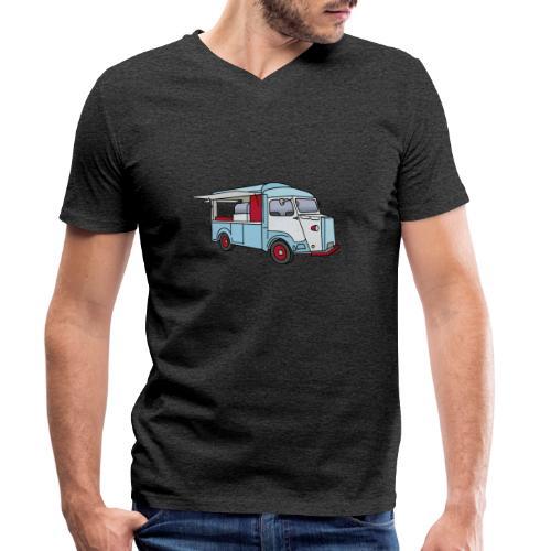 Imbisswagen Foodtruck c - Männer Bio-T-Shirt mit V-Ausschnitt von Stanley & Stella