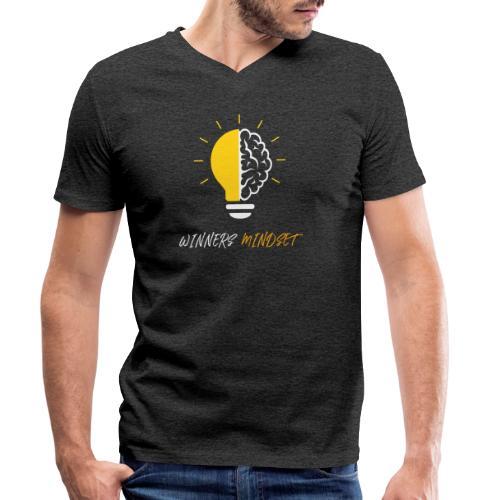 Winners Mindset - Ein Design für Gewinner - Männer Bio-T-Shirt mit V-Ausschnitt von Stanley & Stella