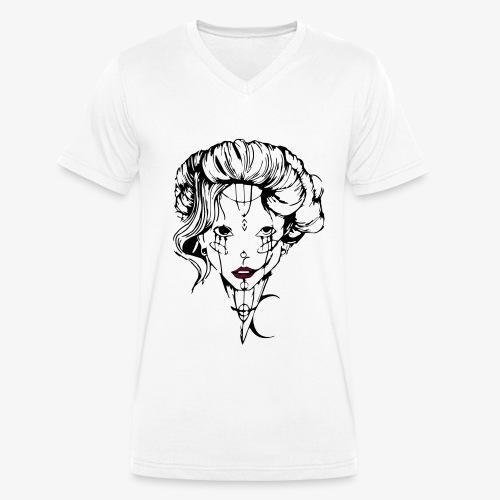 Tendresse maléfique - T-shirt bio col V Stanley & Stella Homme