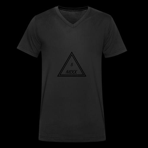 5nexx triangle - Mannen bio T-shirt met V-hals van Stanley & Stella