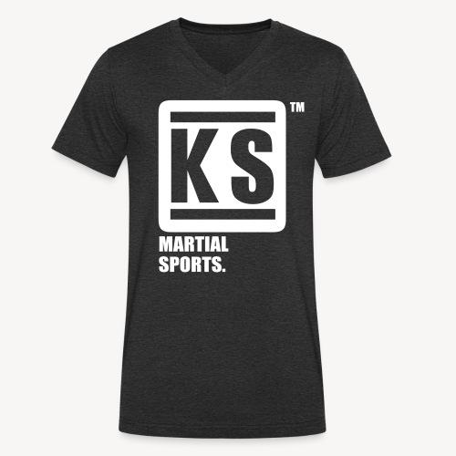 ks martial sport - T-shirt bio col V Stanley & Stella Homme