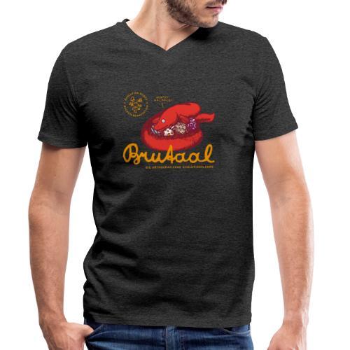 Brutaal ! - Männer Bio-T-Shirt mit V-Ausschnitt von Stanley & Stella