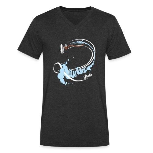 Kunstflug - Männer Bio-T-Shirt mit V-Ausschnitt von Stanley & Stella