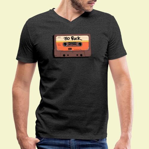 '80 Rock - Color - T-shirt ecologica da uomo con scollo a V di Stanley & Stella