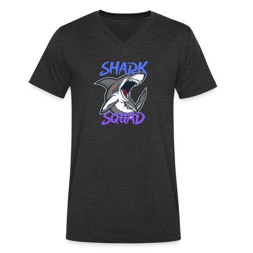 Shark Squad - PowerMEGAL0D0N - T-shirt bio col V Stanley & Stella Homme