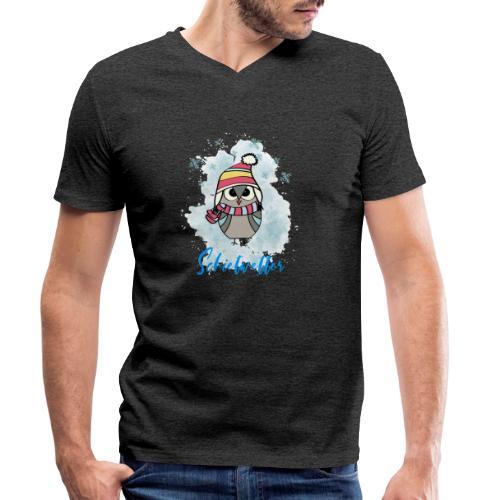 Schietwetter Design - Männer Bio-T-Shirt mit V-Ausschnitt von Stanley & Stella