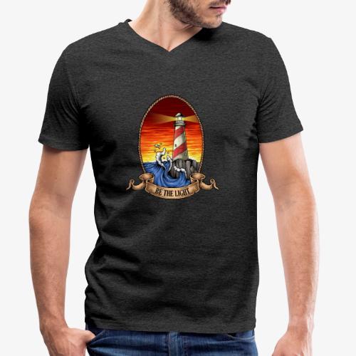 Phare - T-shirt bio col V Stanley & Stella Homme