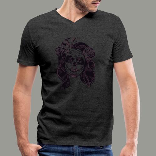 calavera - T-shirt bio col V Stanley & Stella Homme