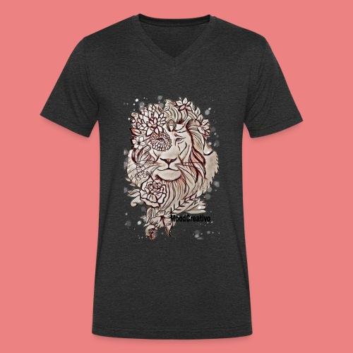MoodCreativo - T-shirt ecologica da uomo con scollo a V di Stanley & Stella