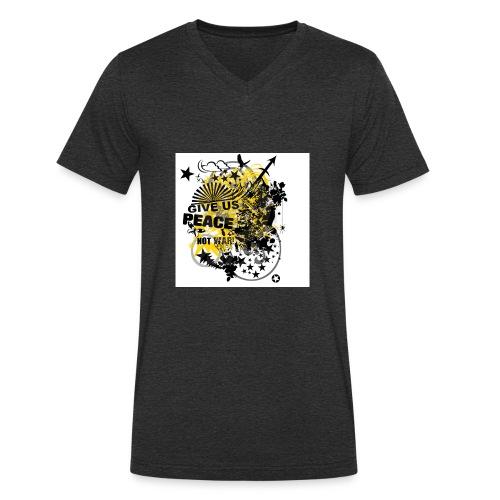 9d8062f0d485f6f23b9c3cc10894a207 - Männer Bio-T-Shirt mit V-Ausschnitt von Stanley & Stella