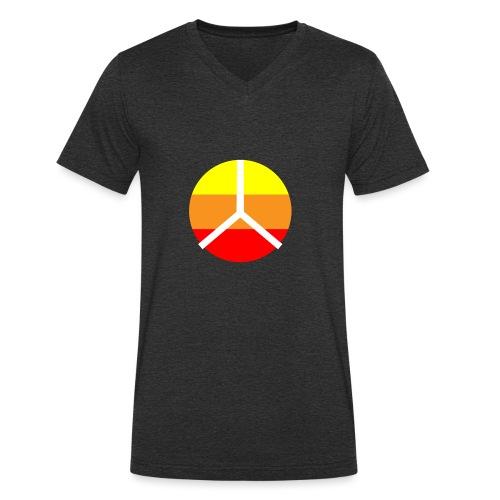 La paix - T-shirt bio col V Stanley & Stella Homme