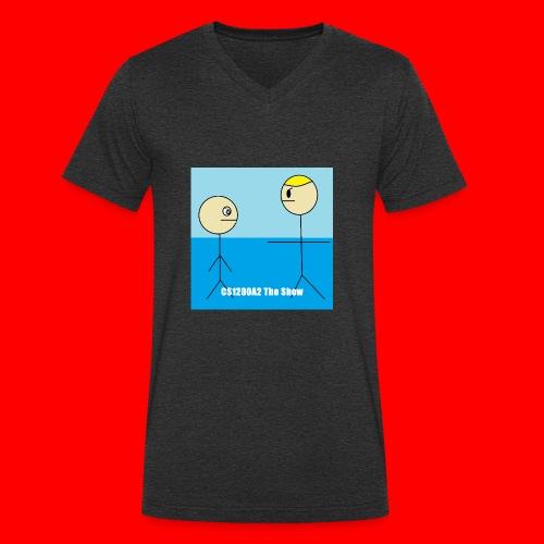 CS1200A2 The Show T Shirt - Camiseta ecológica hombre con cuello de pico de Stanley & Stella