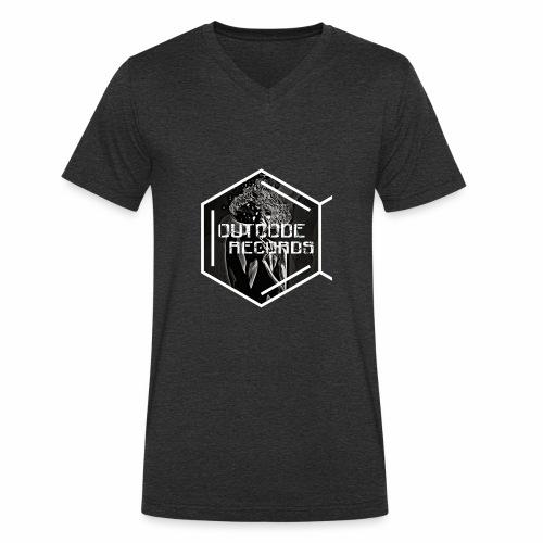 Outcode Records Art - Camiseta ecológica hombre con cuello de pico de Stanley & Stella