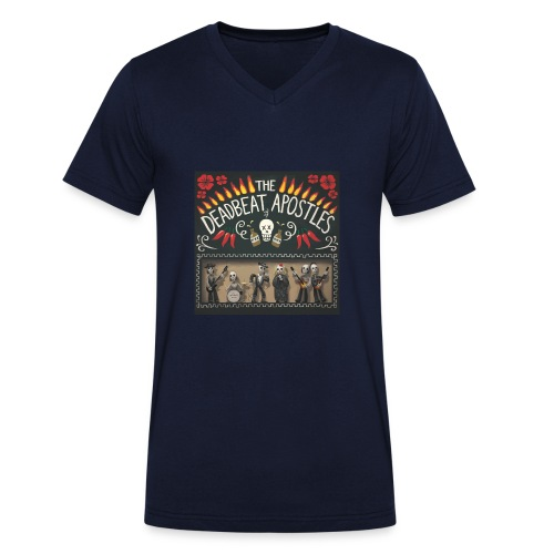 The Deadbeat Apostles - Men's Organic V-Neck T-Shirt by Stanley & Stella