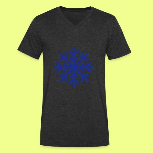 COPO DE NIEVE - Camiseta ecológica hombre con cuello de pico de Stanley & Stella