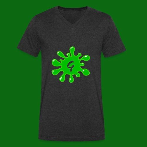 Glog - Men's Organic V-Neck T-Shirt by Stanley & Stella