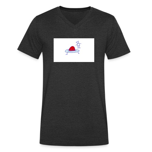 Project 3 - Camiseta ecológica hombre con cuello de pico de Stanley & Stella