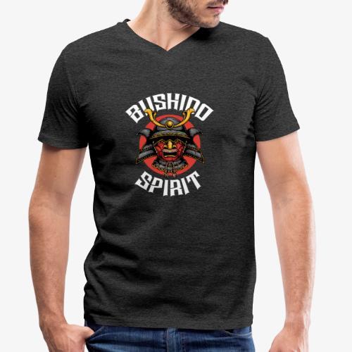 Bushido Spirit - T-shirt bio col V Stanley & Stella Homme