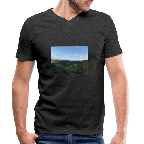 paesaggio - T-shirt ecologica da uomo con scollo a V di Stanley & Stella